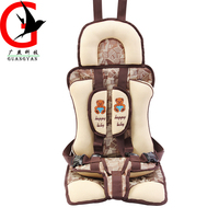 L Size Thicker Baby Child Simple Seat Baby Child Portable Safety Seat Cushion For 3 4
