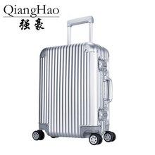 100% чистый Алюминий сплав тяга чемодан 20 25 29 inch металла багажа модный  новый тип чемодан багажа тяга коробки купить на AliExpress 46bd9c242a9