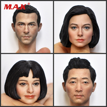 1/6 Scale Europon /American male /Female KUMIK Head Sculpt KM18-46 47 48 49 For 12 body Action Figure collection exquisite 1 6 scale accessories custom head sculpt carving female kumik 13 10 fit 12phicen cy hot toys woman body action figure