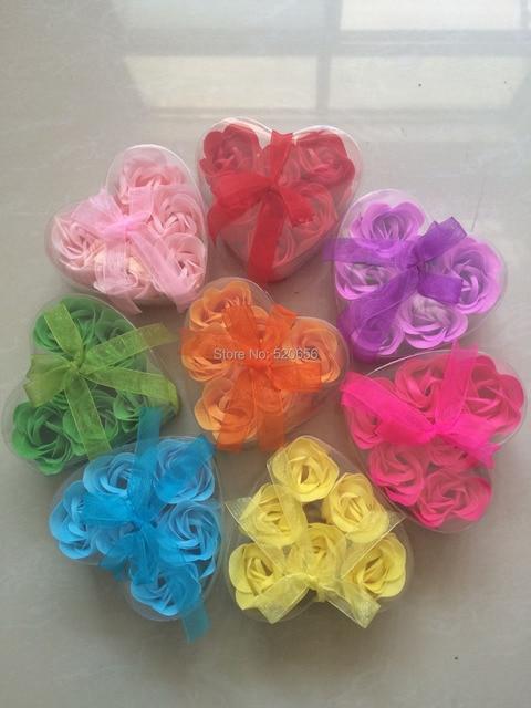 Wedding Favor Rose Flower Soap Bridal Shower Gift Baby Favours Kids Birthday Guest Present