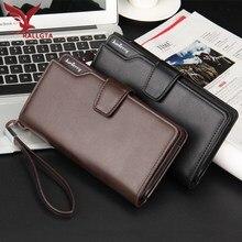 Двойные повседневные долго карман сцепления рука кошельки организатор кошелек дизайн бренд