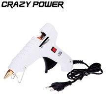 CRAZY POWER 60W Handy Professional High Temp Heater Hot Melt Adhesives Glue Gun Repir Winadow And Plastic Finestra Craft Pistol