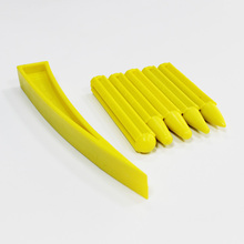 yellow nylon tapdowns with window door plastic wedge for car body paintless dent repair