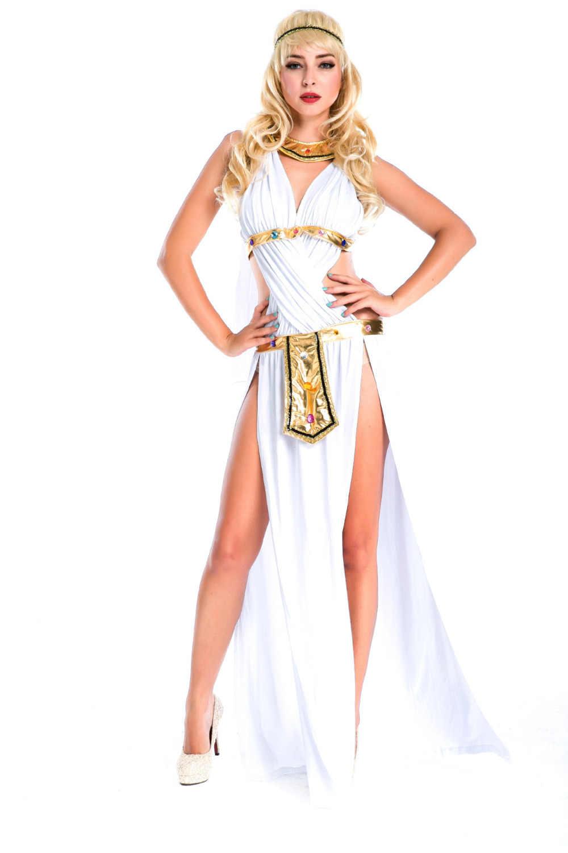 """Пикантные Для женщин Египетский Костюм Богини взрослых Клеопатра Египет Косплэй костюм для Хэллоуина Костюм """"Королева Египта"""" платье"""