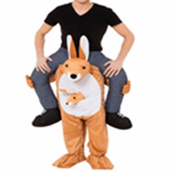 Donald Trump Pantalon Partie Robe Up Rouler Sur Me Mascotte Costumes Transporter Dos Nouveauté Jouets Halloween Party Fun Cosplay Vêtements disfraz