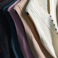 v neck pure color buttons knitted vest female han edition set of brief paragraph shock sleeveless sweater back loose