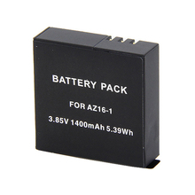 Rechargeable Battery 1400mAh for xiaomi yi 4k AZ16-1 Replacement Li-ion battery for xiaomi yi 4k plus yi Lite action Camera