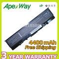 Apexway 6 celdas 11.1 v batería para dell vostro 1500 1700 inspiron 1520 1521 1720 1721 530 s GK479 GR995 KG479 NR222 NR239 TM980