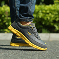 2017 Venta de Hot Spring Hombres Zapatos Estilo de Vida Moda Hombres de Cuero Zapatos causales de Trabajo Diario Ligero Y Duradero Más El Tamaño 45 46