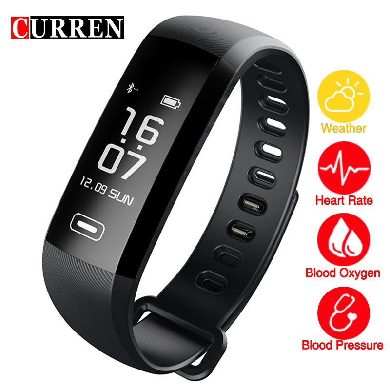 CURREN R5 MAX 0.96 screen smart Call reminders Fitness bracelet Weather forecast blood pressure heart rate monitor Blood oxyge чайник электрический scarlett sc ek18p34