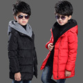 Parkas Coats for Boys Solid Kids Vestido Children Down Winter Jackets Infant Hooded Clothing Students Warm Outerwear Costumes 10