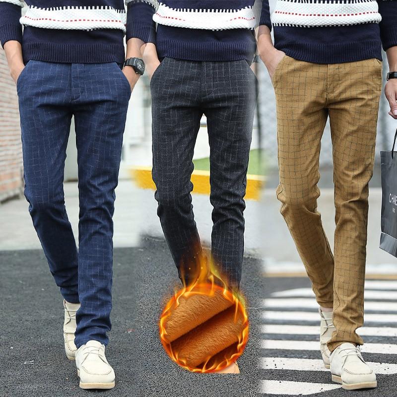 Toamna iarna noi de bumbac și lenjerie de corp casual pantaloni - Imbracaminte barbati
