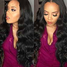 Brazilian Virgin Body Wave Weft 3 Bundles 100% Unprocessed Human Hair Weave Remy Wavy Wholesale Hair Products
