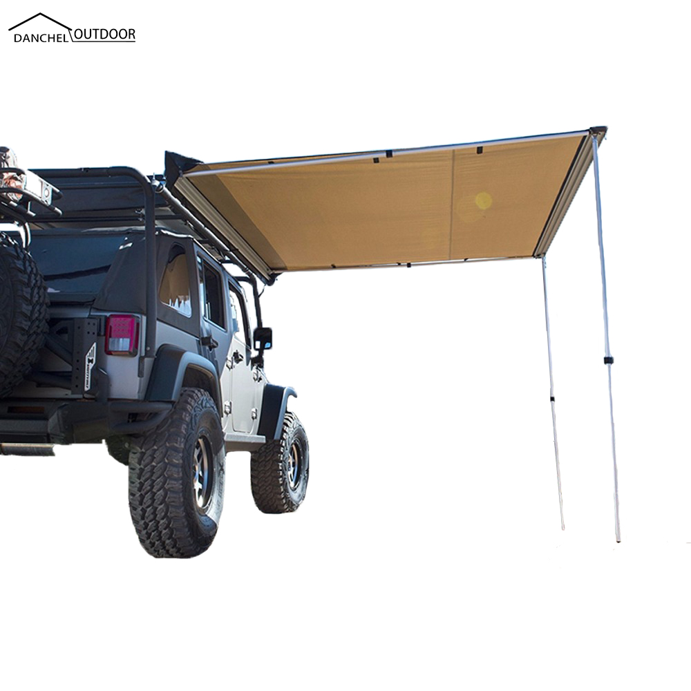 4Wd Awning Tent danchel car side awning roof top tent awning for car 4wd waterproof side  car tent sunshelter