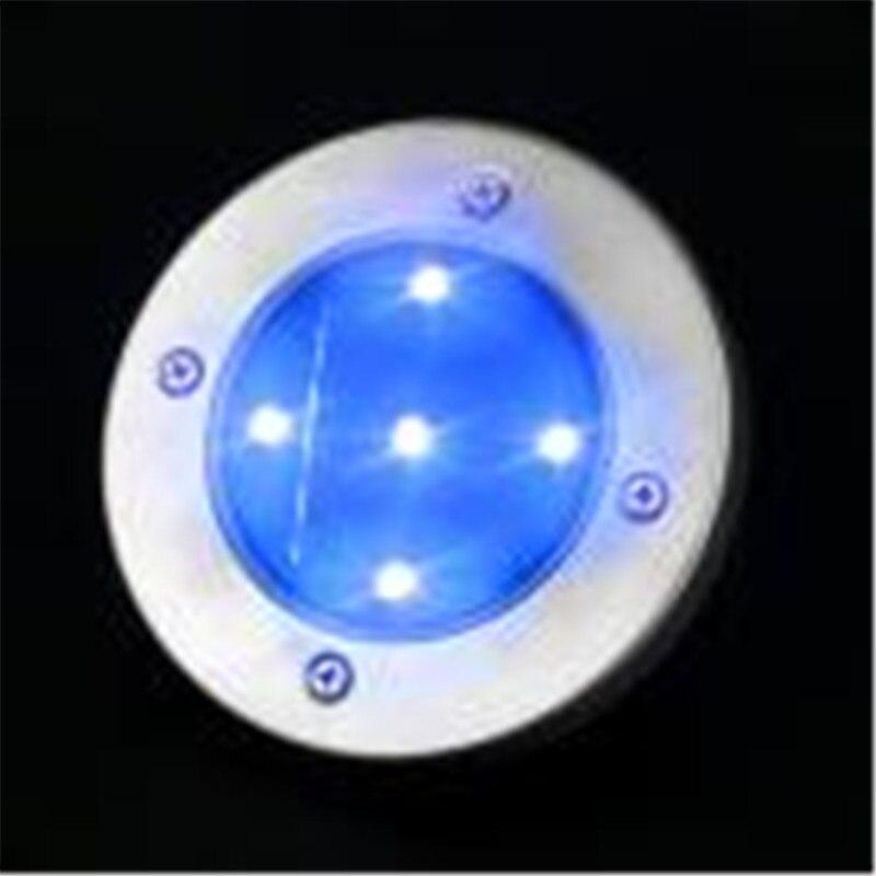 5 farbe 5LED Einbau U leuchten Solarbetriebene Begraben Beleuchtung ...