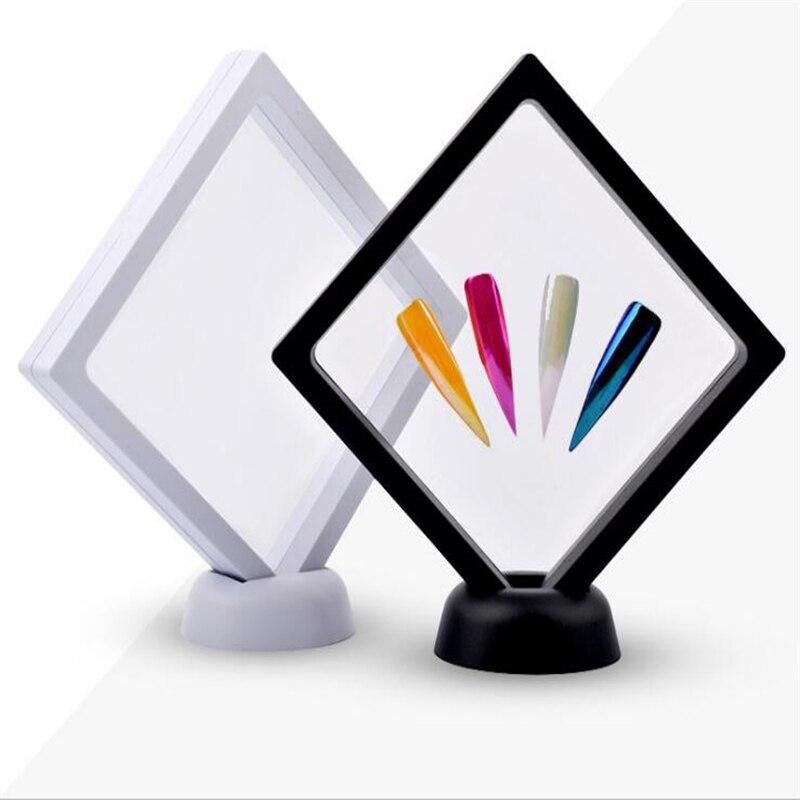 Uñas stands, tablilla de anuncios de uñas, negro, cuadrado blanco ...