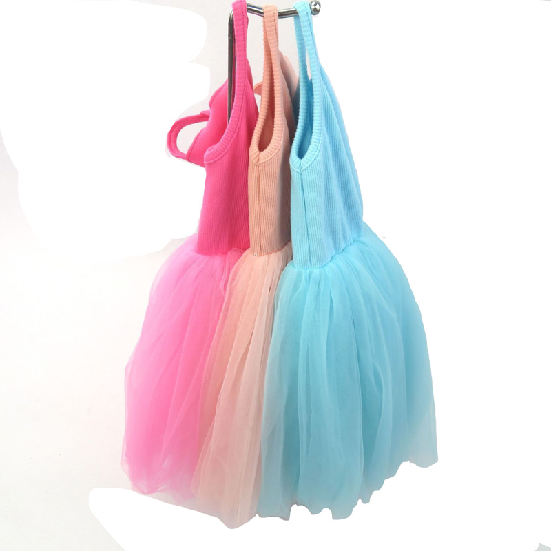 2-9Y Summer Girls Dresses High Quality Toddler TuTu Dress Girl Clothing Cute Mesh Party Birthday Princess Kids Dress 3 colors summer little baby girls mesh princess dress kid girl party pageant tutu dresses quiet clothing 2 11t