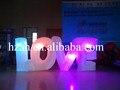 Надувная Светодиодная лампа с надписью LOVE