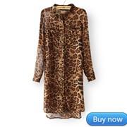 2014-New-Hot-European-And-American-Retro-Long-Sleeve-Leopard-Print-Dress-Lady-s-Chiffon-Double