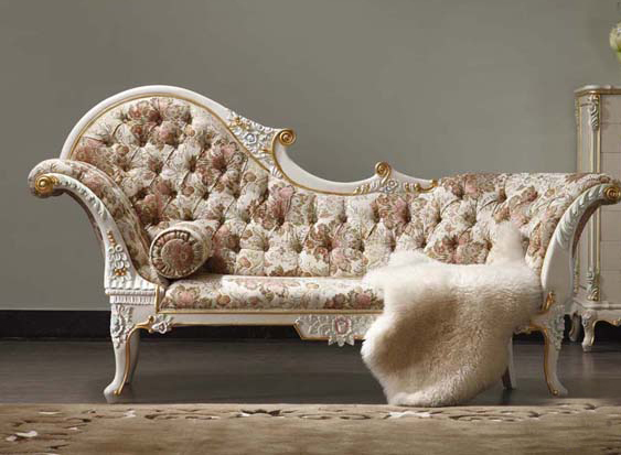 2015 Royal Italian Baroque Style Carved Wood Bed European Classical French  2.2 M Chaise Lounge Chairs Chaise Couch In Chaise Lounge From Furniture On  ...