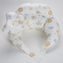 U-Shape Breastfeeding Pillow Add A Fence Prevent Falling Baby Nursing Pillow Infant Sitting Surport Cushion Multifunction Pillow multifunction nursing pillow infant breastfeeding pillow baby v shape pillow protect mummy waist support cushion