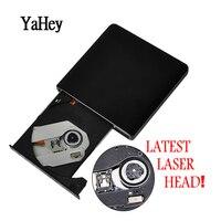 USB 3.0 High Speed External DL DVD RW Burner CD Writer Portable Optical Computer Drive DVD RW Drive for hp Laptop