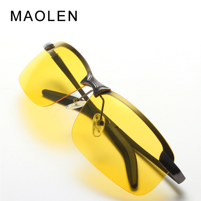 db27a995a4b MAOLEN Polarized Sunglasses Car drivers night vision Goggles anti-glare  Polarizer Driving Sunglass Men Sun