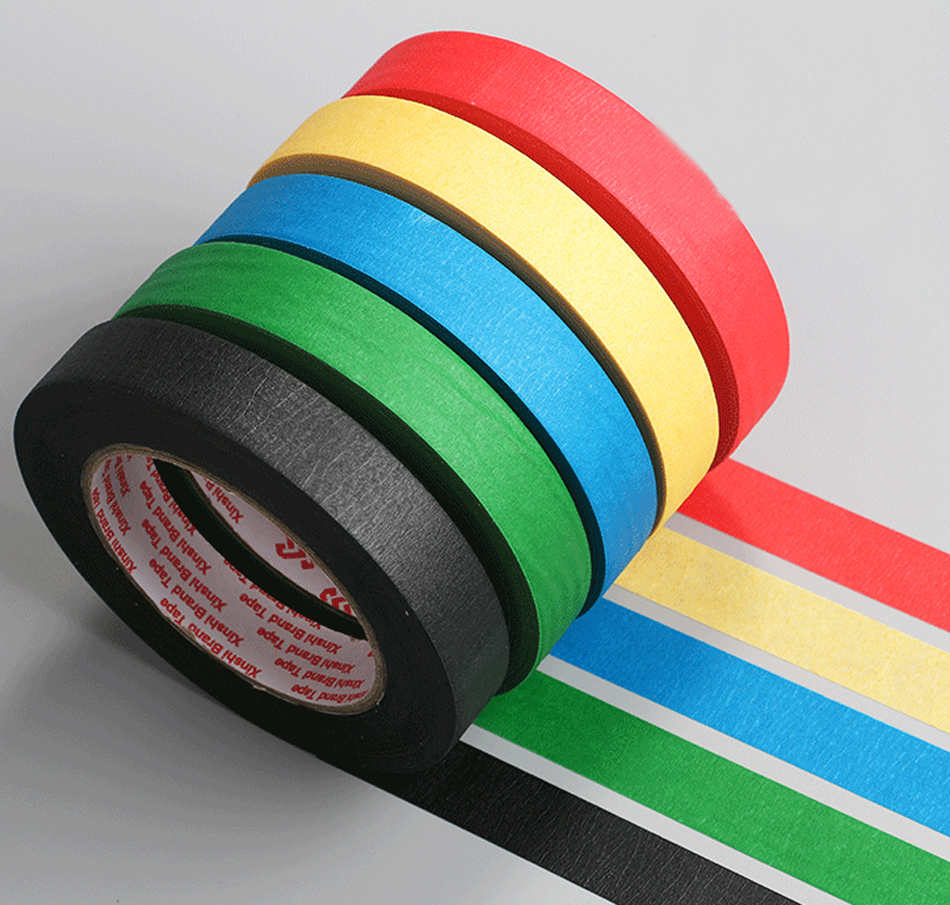 Painters Masking Tape, no residue high viscosity . painting tape.10mmx50m.3pcs surrealist painters page 4