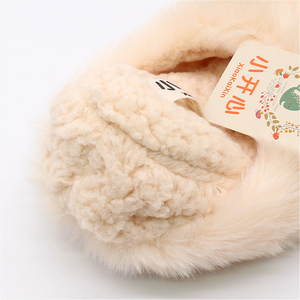 Image 3 - Зимние домашние плюшевые тапочки с милыми животными для влюбленных; Обувь для мужчин и женщин; Мягкие теплые пушистые тапочки в форме собаки; Лучший подарок для девочек