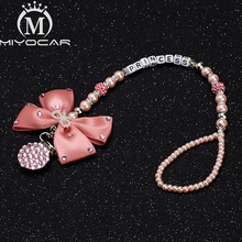 MIYOCAR Any name pink bling rhinestone pacifier clip holder dummy unique gift for baby