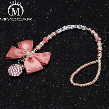MIYOCAR Any name pink bling rhinestone pacifier clip holder dummy clip holder unique gift for baby bling bling pacifier clip any initials letter pacifier chain holder dummy clip safe metal chain