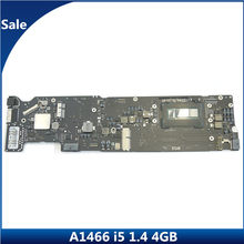 "100% Test ordinateur portable A1466 carte mère pour MacBook Air 13.3 ""1466 carte mère i5 1.4 GHZ 4 GB 4G 820-3437-B 2013 2014 année MD760(China)"