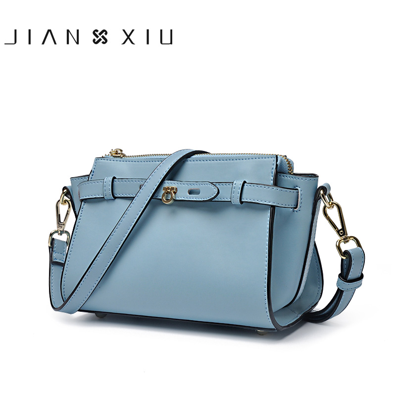 JIANXIU Women Messenger Bags Split Leather Bag Bolsa Bolsos Mujer Sac Bolsas Feminina Shoulder Crossbody 2017 Tassen Small Bag jianxiu handbags women messenger bags bolsa feminina sac a main bolsos mujer tassen nylon waterproof shoulder crossbody tote bag