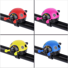 Lovely Kids Beetle Ladybug Ring Bell 22mm Handlebar Bike Horn Alarm Bicycle Cycling