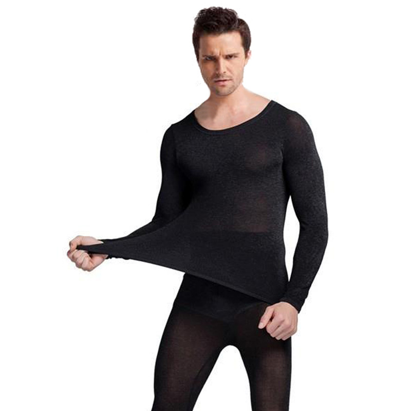 Queenral Thermal Underwear Men Women Long Johns Women Winter Ultra Thin Seamless Shape Slimming Thermal Underwear Male Female 5
