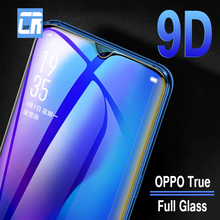 9D Curved Edge Protective Glass on the for Oppo A7 A7X R15 R17 Full Cover Tempered U1 F9 Screen Protector Film