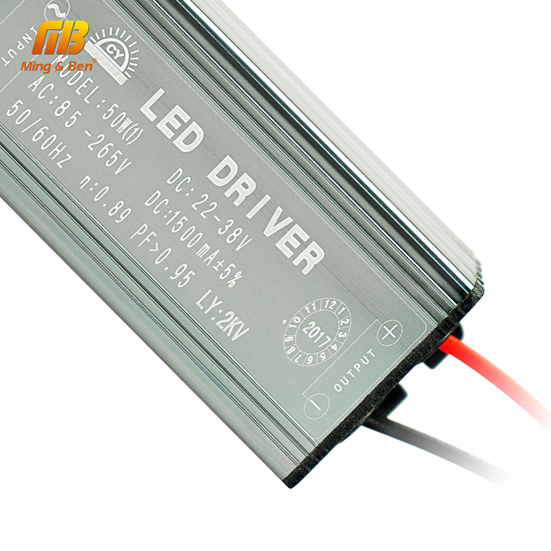 LED Driver 10W 20W 30W 50W 70W Convert AC85-265V To DC22-38V No Flicker LED Driver DIY For Flood Light Spotlight IP67 Waterproof