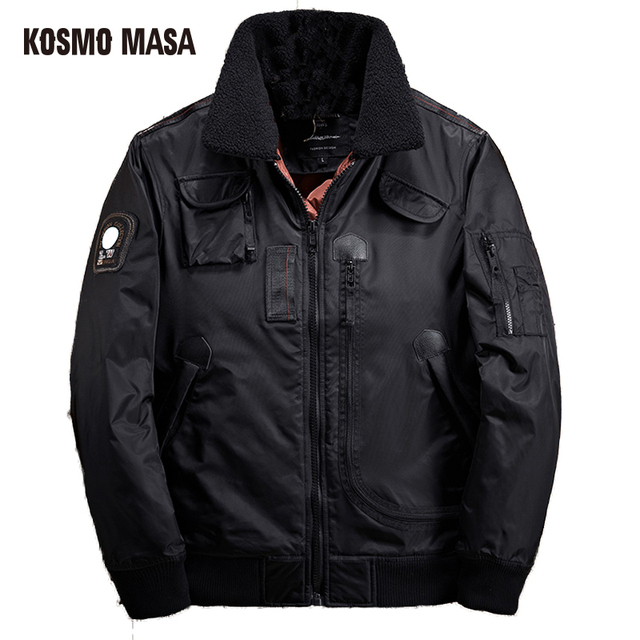 KOSMO MASA 2017 Brand Clothes Winter Parkas For Men Factory Direct Clothing  Coat Campera Puffer Jacket Mens Down Parka MP008-in Parkas from Men's
