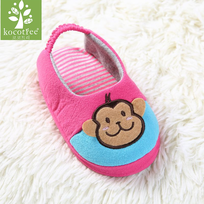 Kocotree Brand Spring Autumn Cute Toddler Kids Children Boys Girls Shoes Living House Cotton Slipper Comfortable Warm Shoes