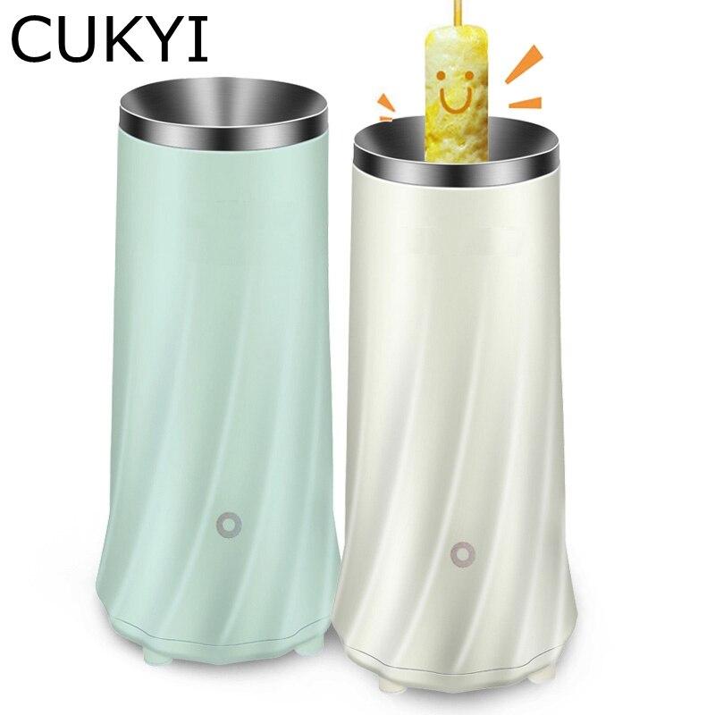 CUKYI Elektrische Mini Ei Rolle Maker Ei Kessel Automatische Ei Kochen Werkzeuge Ei Tasse Omelett Master Wurst Maschine 220 V