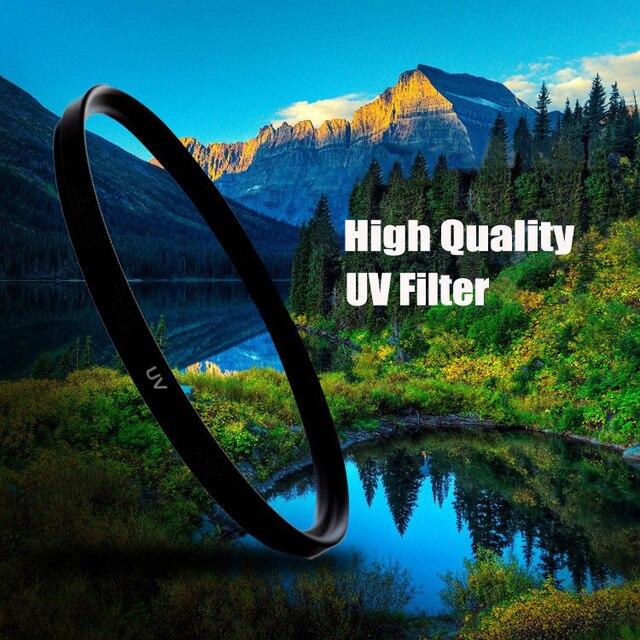 קנקו UV מסנן filtro filtre 49mm 52mm 55mm 58mm 62mm 67mm 72mm 77mm 82mm Lente להגן סיטונאי עבור Canon Nikon Sony DSLR