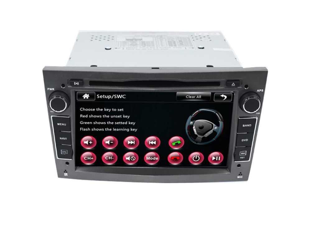 2 Din Автомобильный dvd-плеер для Opel Astra Vectra Antara Zafira Corsa gps навигация Радио Аудио Видео USB SD управление рулем