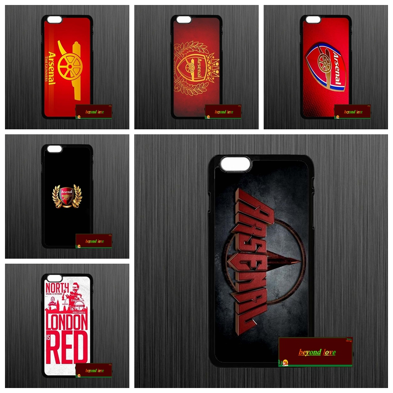 40124a0a5ef Fashion Arsenal Logo Gunners Cover case for iphone 4 4s 5 5s 5c 6 6s plus