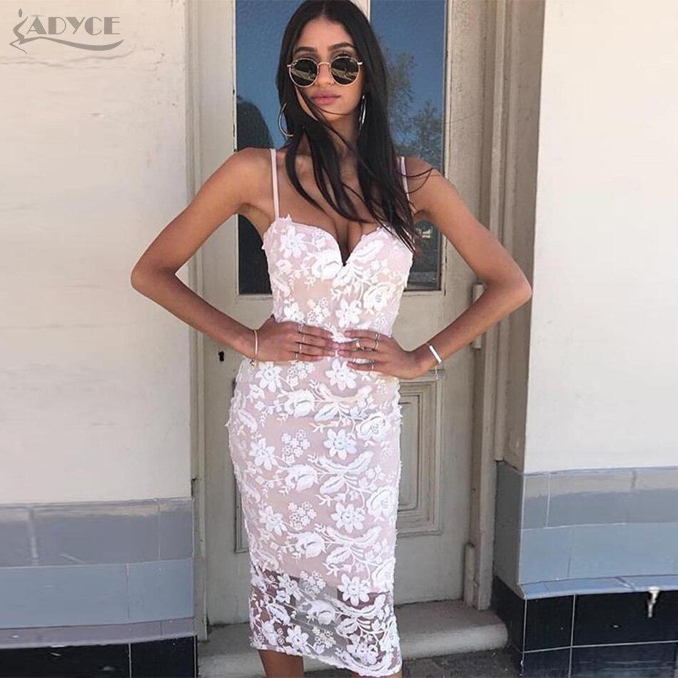 Adyce 2018 Mode Frühjahr Frauen Abendverbandkleid-parteikleider ...