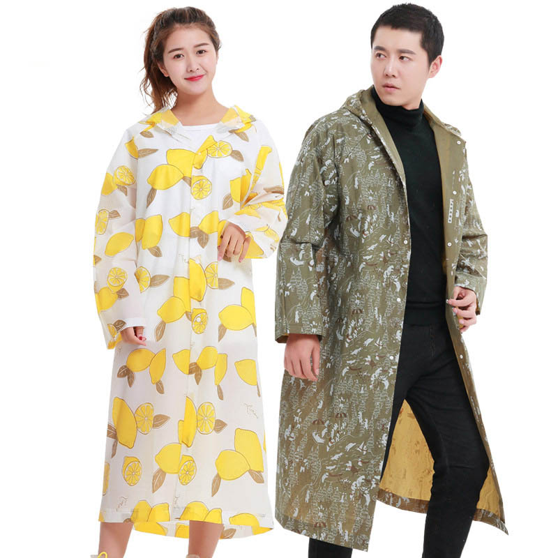 Raincoat Women/Men Rain Coat Light Weight Rainwear Impermeable Plastic Rain Gear Poncho ...
