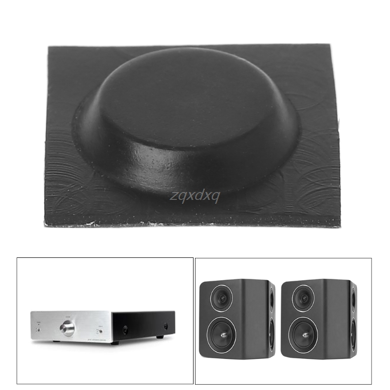 Computer & Office Audio Speaker Amplifier Vibration Shock Absorber Feet Pads Rubber Pad Self-adhesive 1.9*0.4cm Aug_26 Dropship For Improving Blood Circulation Mouse Pads