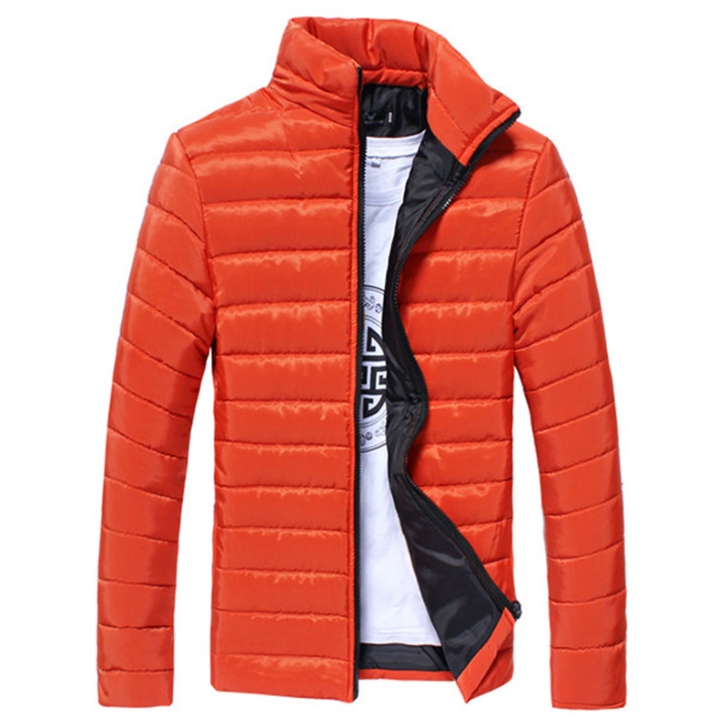 Kış Sıcak Rayon Aşağı Ceket Erkekler Ince Ultra Hafif İnce Coat Uzun Lleeve Katı Cep Moda Adam için Giysileri