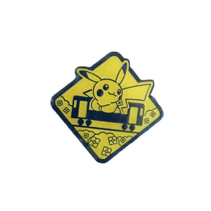 Pokemon Pikachu Pin Lencana