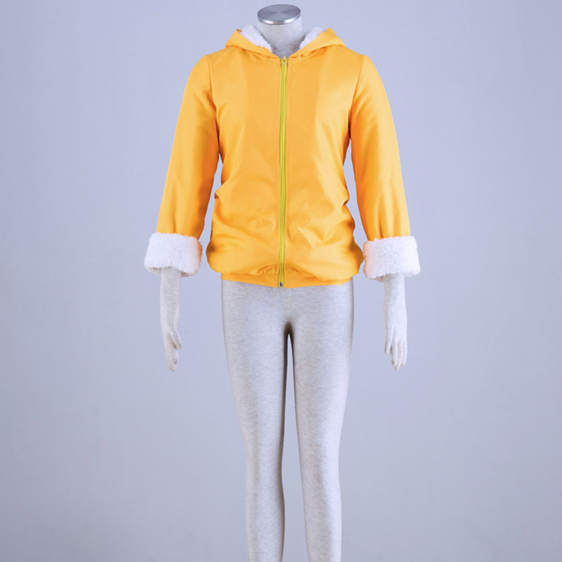 Athemis lovelive Kousaka Honoka Yellow bear coat Cosplay Costume female M