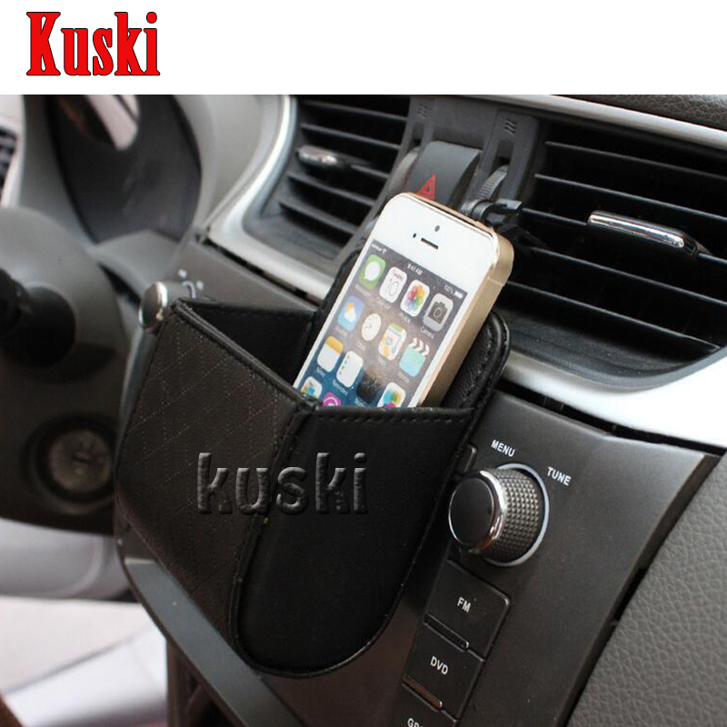Car styling portable mobile phone holder storage box for Mercedes benz cell phone cradle